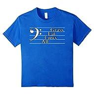 Music Teacher Gift Idea Bass Clef T Shirt Student Staff