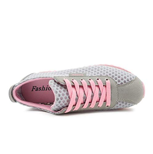Neue Low Reise Wanderschuhe Damenschuhe Mesh Gym Schuhe EIN Frühling up Lace Herbst Sport 2018 Exing Breathable Top Turnschuhe Trainer 4Fqfw