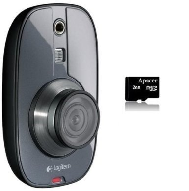 Logitech Alert 700i Indoor Add-On HD-Quality Replacement Security Camera with 2GB Micro SD card