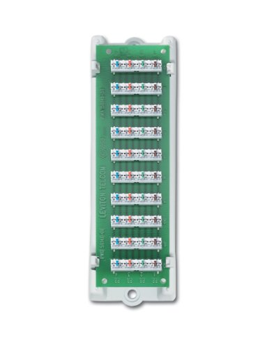 Leviton 47689-B 1x9 Bridged Telephone Module with Bracket ()