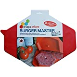 Burger Master MAX 4-in-1 Innovative Burger Press and Freezer Container