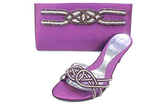 Wear & Walk UK , Damen Sandalen 36.5 Violett
