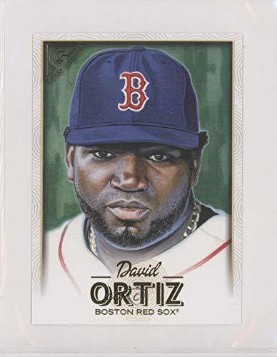 (David Ortiz (Baseball Card) 2018 Topps Gallery - Oversized Box Toppers #OBT-DO)