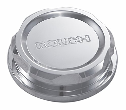 Roush 421260 Brake Fluid Cap, Billet, Polished