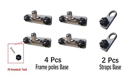 Brocraft Versatrack Tracker Bimini Top Mount/Canopy Mounts/Versatrack Boat Accessories (Best Steel Track Frame)