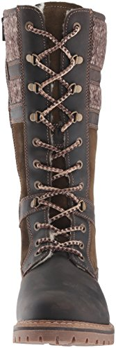 Gaucho Co Snow Brnbge Dkbrown Suede Holding Bos amp; Women's Boot Olive Sweater Rq6Izw5