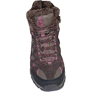 Merrell Women's Ridgepass Thermo Mid WTPF Espresso/Blushing Hiking Boot 5M