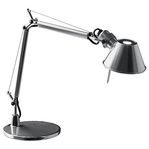 Artemide Tolomeo Alluminium Micro Table Lamp Aluminum A011800