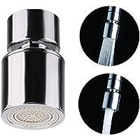 OFKPO waterkraan luchttoestel, met straalregelaar, draaidouche voor keuken badkamer kraan opzetstuk