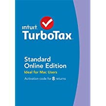 TurboTax Online for Mac 8 Return TY14
