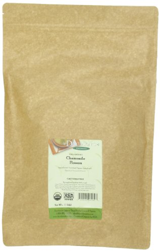 Davidson's Tea Bulk, Herb Chamomile Flower, 16 Ounce Bag