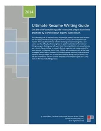 Expert Resume Writing Guide