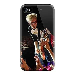 Iphone 4/4s ILg7820Cief Custom Realistic Mcfly Band Skin Best Hard Phone Cover -DannyLCHEUNG