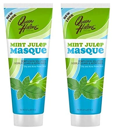 Queen Helene The Original Mint Julep Facial Masque - 2 Oz, 2 Pack Tinted Lip Balm Coconut Nectar Surya Nature, Inc 0.15 oz Balm