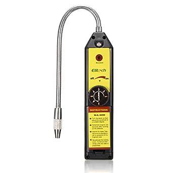 HITSAN WJL-6000 CFC HFC - Detector de fugas de gas halógeno R22 con aire