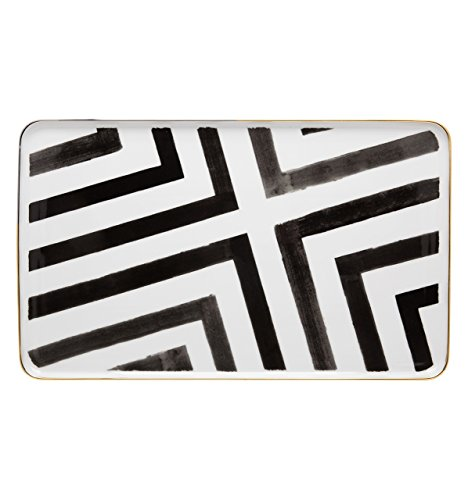VISTA ALEGRE - Sol y Sombra by Christian Lacroix (Ref # 21117734) Porcelain Rectangular Platter by Unknown