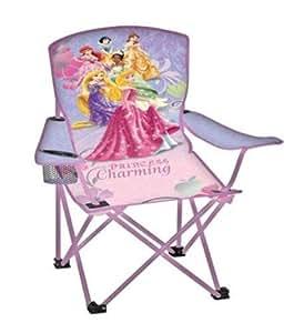 Amazon Com Disney Chair Kids Folding Princess Polyester