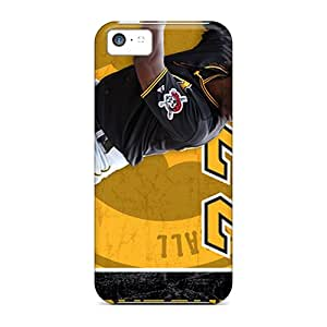 Shockproof Hard Cell-phone Case For Iphone 5c (DYe19082hAWu) Customized High-definition Pittsburgh Pirates Pattern