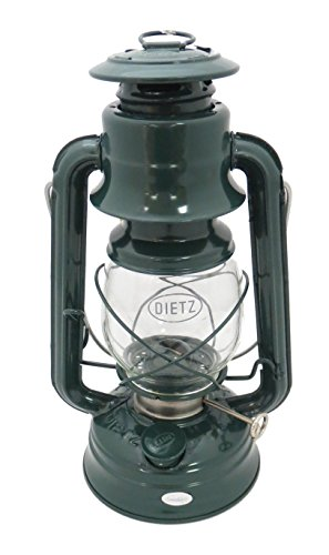 Dietz #76 Original Oil Burning Lantern (Green) (Lantern Green Glass)