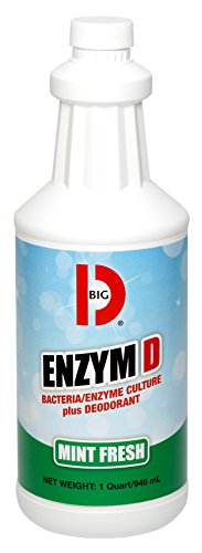 BGD504 - Big D Industries Enzym D Digester Deodorant, Mint, 1qt, Bottle by Big (Big D Mint Deodorant)