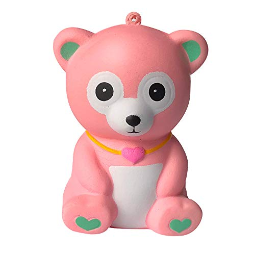 FONMA Squishies Adorable Bear Slow Rising Cream Squeeze Scented Stress Relief -