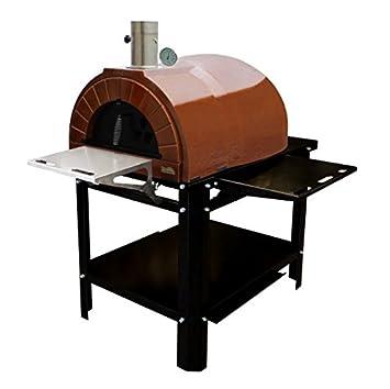 Amphora Ready (Amphora Plus + Soporte) Jardín del Horno para pizza Horno