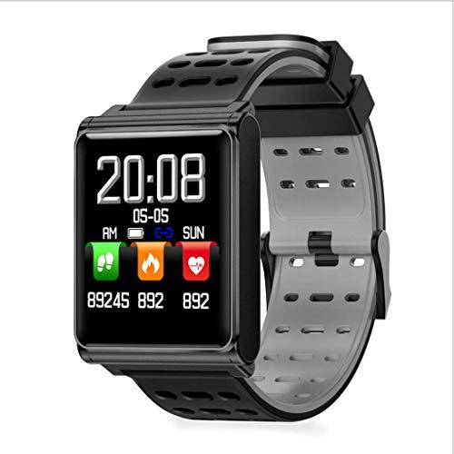 Pulsera Inteligente Actualizacion Pantalla Tactil Completa Frecuencia Cardiaca Paso Movimiento Informacion Recordatorio De Llamada Pulsera Reloj Inteligente