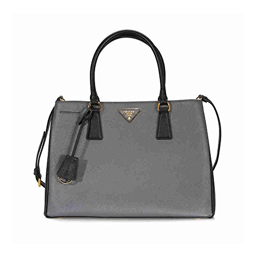 Prada-Lux-Saffiano-Leather-Tote-Mercury-and-Black
