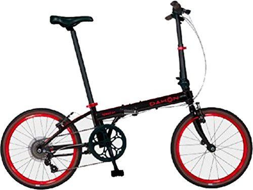 Dahon Speed D7 Street 20'' 7 Speed Folding Bicycle (Black/Red)