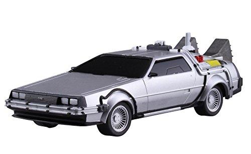 Aoshima Movie Mecha Series No.12 Back to the Future Pullback DeLorean Part.2 1/43 Scale Plastic Model kit