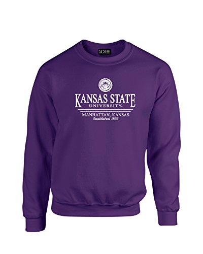 Purple Classic Crew Sweatshirt - 2