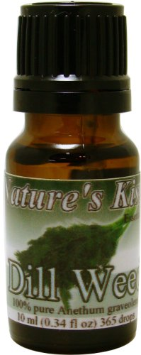 Dill Weed Essential Oil 100% Pure 10 Ml 0.34 Fl. Oz. 365 Drops Therapeutic Grade By Nature's Kiss, Health Care Stuffs