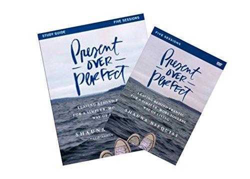 Shauna Niequist - Present over Perfect Study Set (Study Guide + DVD)