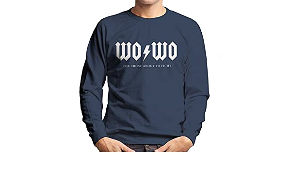 Wonder Woman For Those About to Fight AC DC Mens Sweatshirt: Amazon.es: Ropa y accesorios