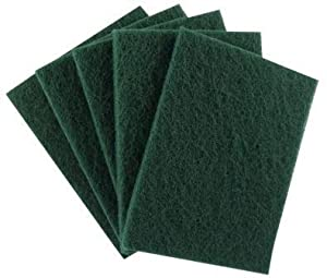[Pack of 40] Tough Scouring Pads by HeRO Imports - Cuts Solvents & Greasy Messes