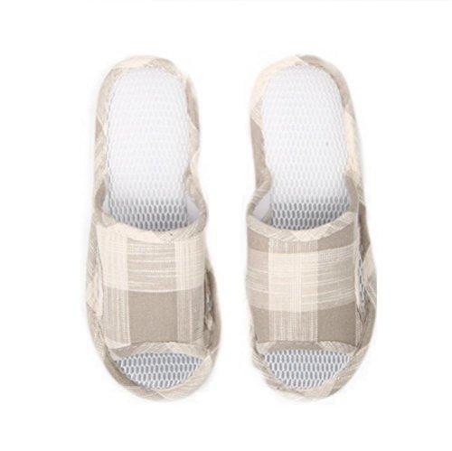 mhgao Ladies malla zapatillas casa libre interior Suelo Antideslizante Zapatillas 2