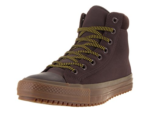 Converse Mens Boots (Converse Unisex Chuck Taylor All Star Boot PC Hi Burnt Umber/Bitter Lemon Gum Boot 8 Men US / 10 Women)