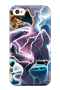 Cute Appearance Cover Tpu Pokemon Case For Iphone 4/4s