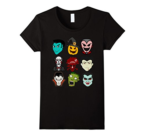 Womens Dabbing characters Halloween T-shirt Large (Funny Female Movie Characters Halloween)