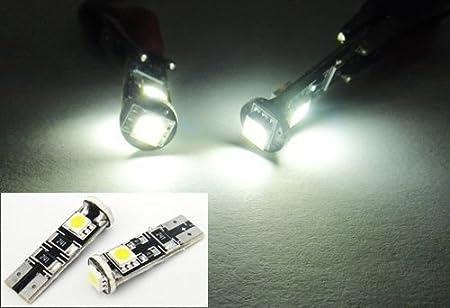 LEDIN 2x White 16 SMD LED Parking Light 168 T10 194 Bulb