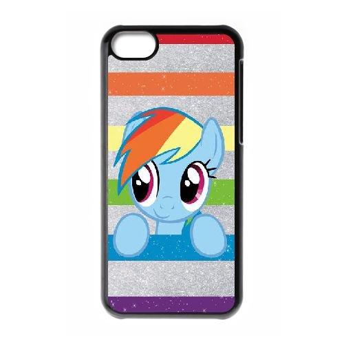 My Little Pon NK20EL3 coque iPhone Téléphone cellulaire 5c cas coque I2ZC5B7KY