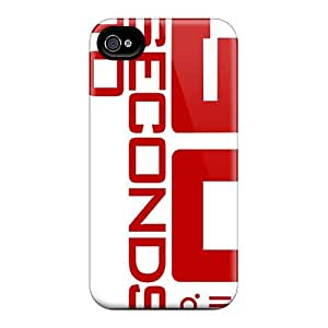 Best Hard Cell-phone Cases For Iphone 4/4s With Provide Private Custom Attractive 30 Seconds To Mars Band 3STM Skin RitaSokul