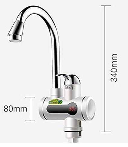 EuroQuality Instantánea Sin Tanque Calentador Eléctrico de Agua Caliente Grifo de la Cocina de Calentamiento Instantáneo Grifo: Amazon.es: Bricolaje y ...