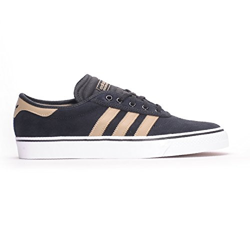 adidas Originals Herren Adi-Ease Premiere Fashion Sneaker Kern Schwarz / Rohgold / Schuhe Weiß
