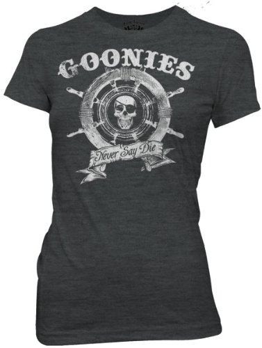 Juniors: Goonies - Captain's Wheel Juniors (Slim) T-Shirt Size XL - Goonies Captains Wheel