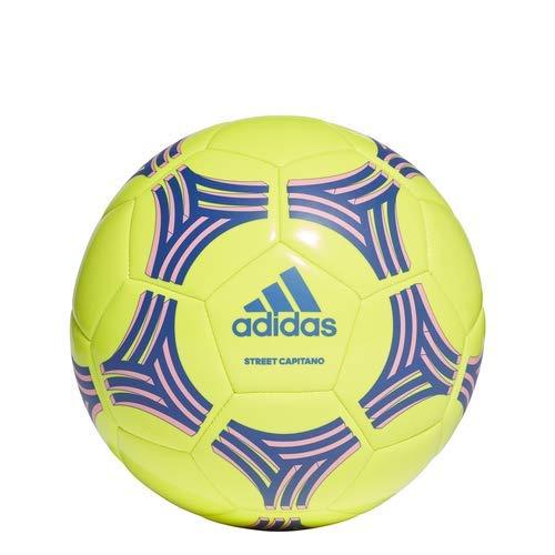 adidas Tango Glider Soccer Ball Solar Yellow/Bold Blue/Hyper Pop, 5 by adidas