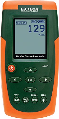 Extech AN500 Hot Wire CFM/CMM Thermo-Anemometer (Discontinued by the Manufacturer) ()