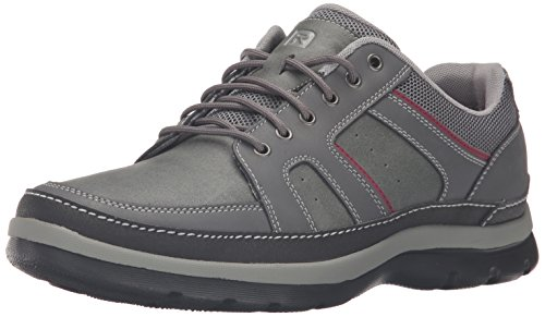 Rockport Men's Get Your Kicks Mudguard Blucher Oxford, castlerock grey, 6.5 W US