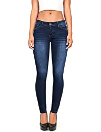 Women's Juniors Timeless Low Rise Stretchy Skinny Jeans