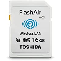 Toshiba Flash Air II Wireless 16 GB SD Memory Card (PFW016U-1BCW)